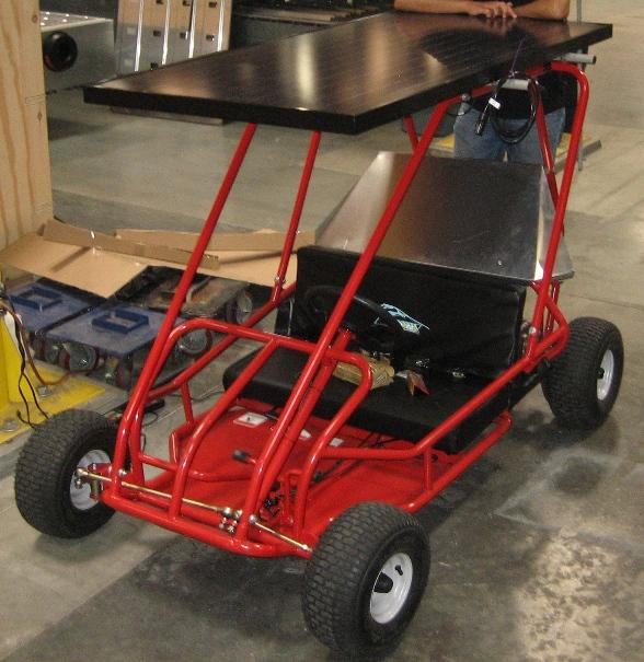 Solar Powered Electric Go Kart